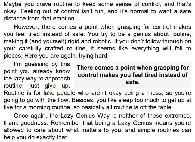 The Lazy Genius Way by Kendra Adachi PDF
